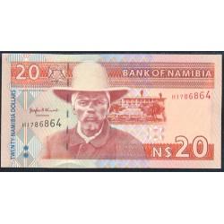 Namibia 20 Dólares Pk 5 (1.996) S/C