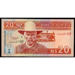 Namibia 20 Dólares Pk 6 (2.002) S/C