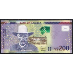 Namibia 200 Dólares Pk 15 a (2.012) S/C